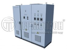 POWER SUPPLY CABINET SET FOR AUTOMATICS AND TELEMECHANICS SHPAT WITH UNINTERRUPTIBLE POWER SUPPLY AND MONITORING AND CONTROL SYSTEM