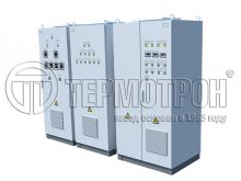 Power supply cabinet set for automatics and telemechanics